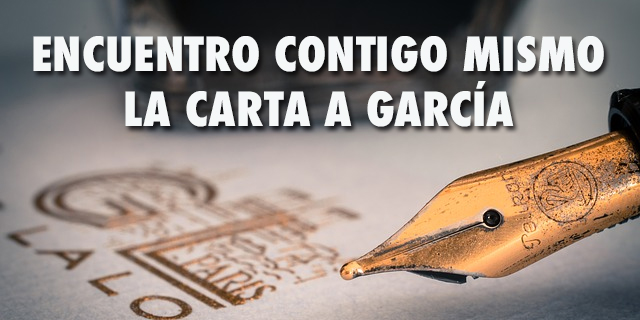 Audio Encuentro contigo mismo - la carta a García